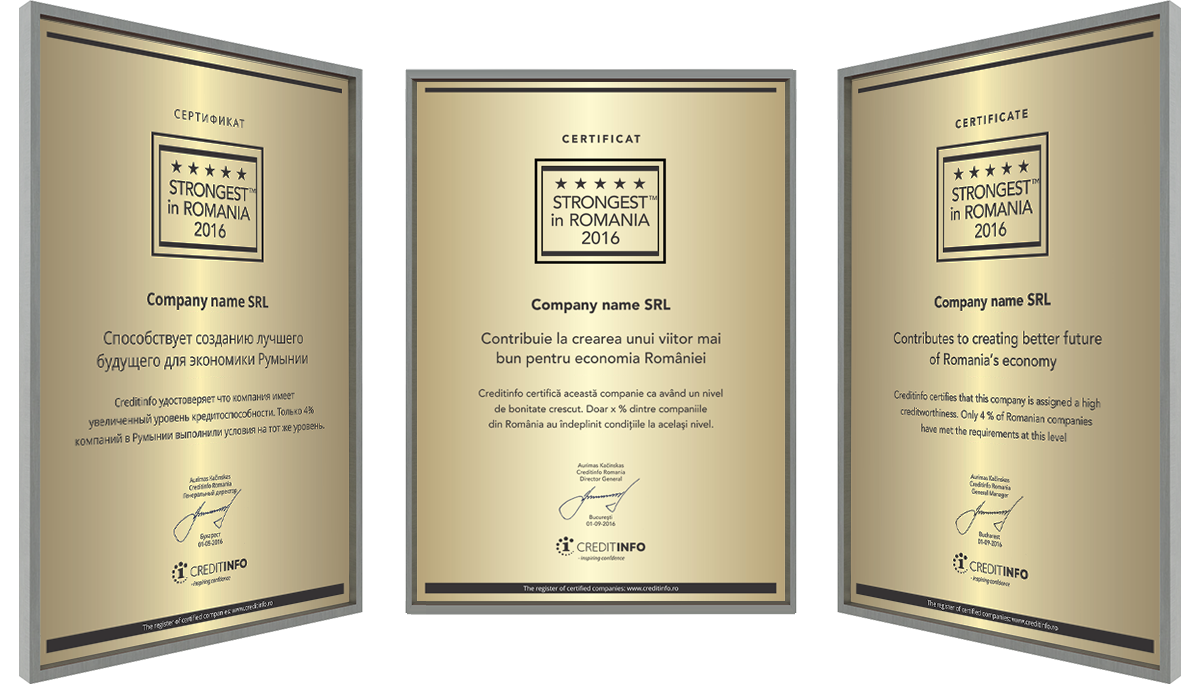 Examples of Certificates 4