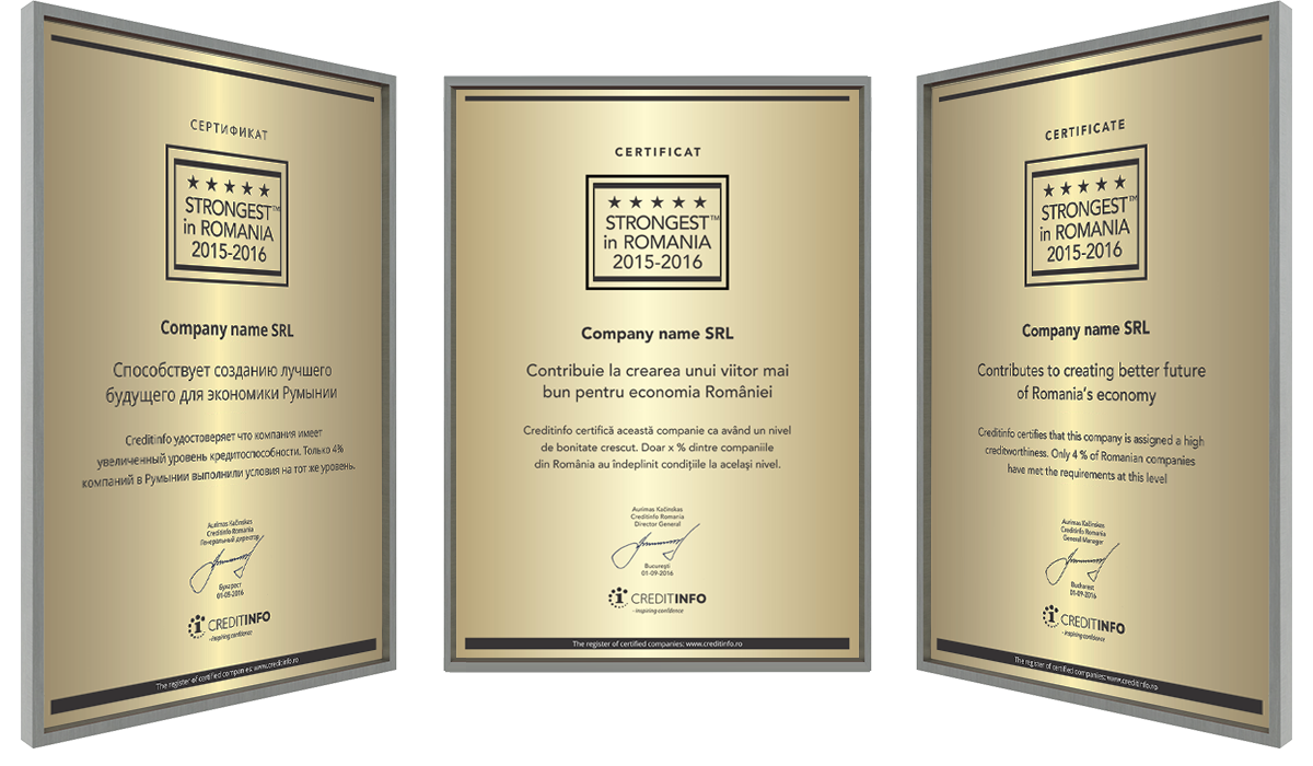 Examples of Certificates Grave